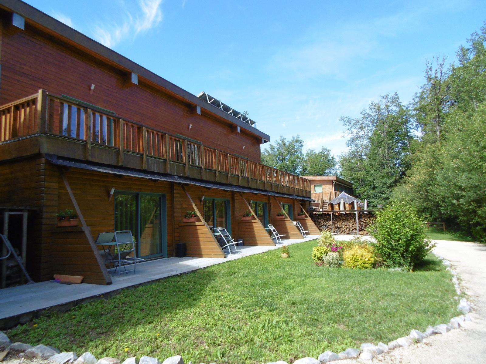 Terrasses privées des chambres d'hôtes