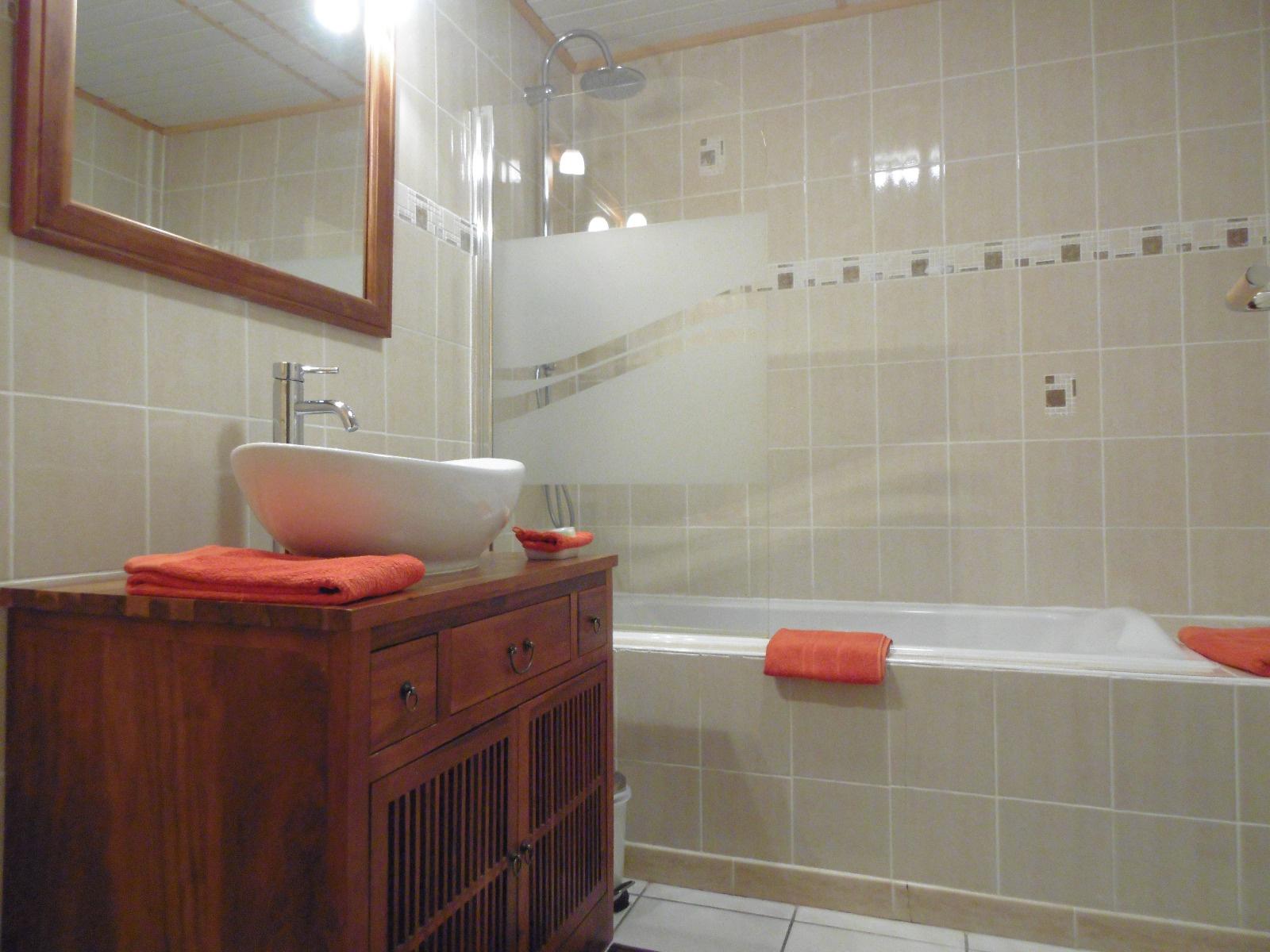 Salle de bains / wc d'une chambre d'hôtes