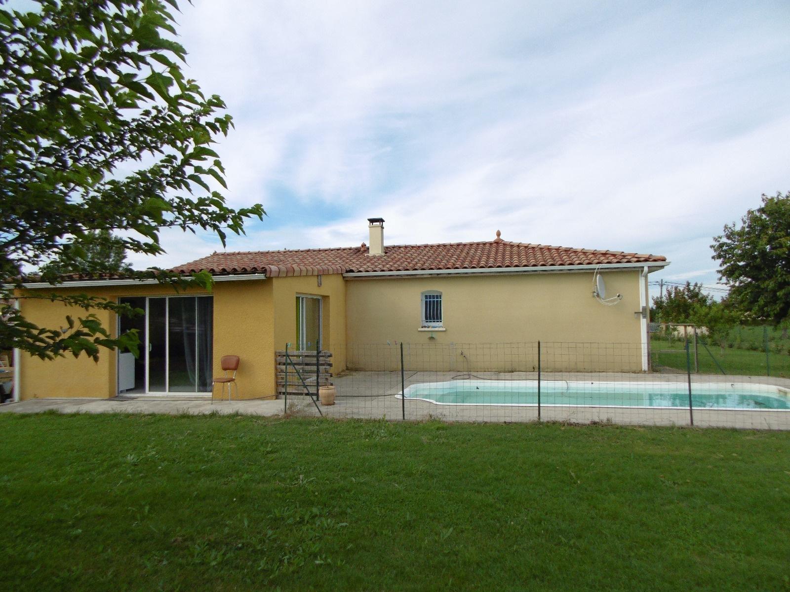 Vente 30 mn toulouse s e villa t5 garage et piscine - Garage du marais villefranche de lauragais ...